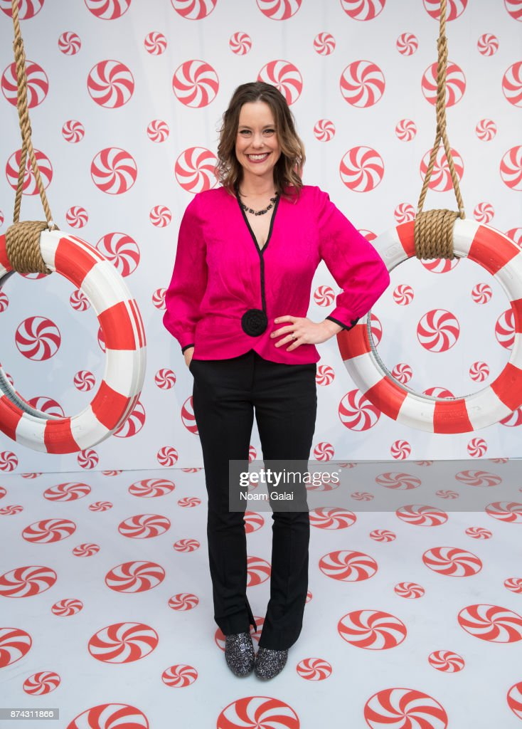 Ashley Williams attends the opening of Hallmark's Museum of Christmas on November 14, 2017 in New York City.