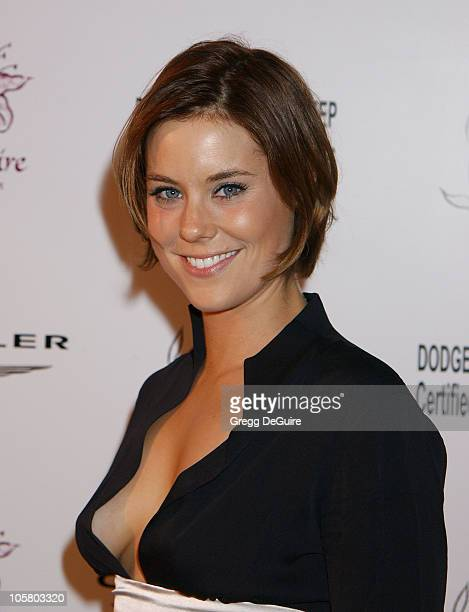 Ashley Williams during The Lili Claire Foundation's 6th Annual Benefit at Beverly Hilton Hotel in Beverly Hills California United States