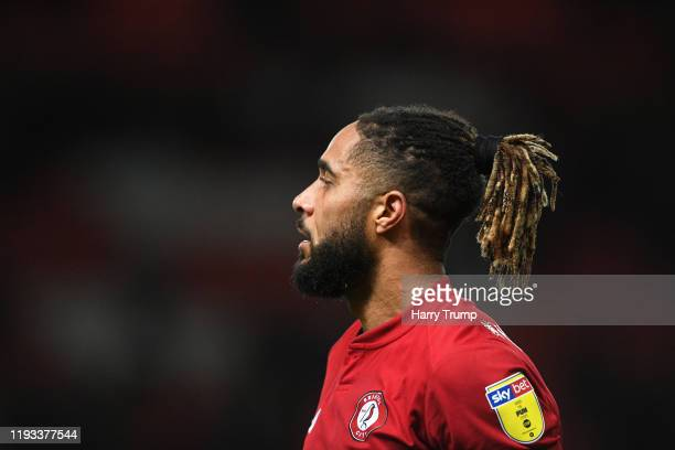 Ashley Williams of Bristol City during the Sky Bet Championship match between Bristol City and Millwall at Ashton Gate on December 10 2019 in Bristol...
