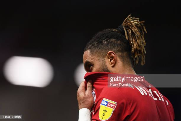 Ashley Williams of Bristol City reacts at the final whistle during the Sky Bet Championship match between Bristol City and Millwall at Ashton Gate on...