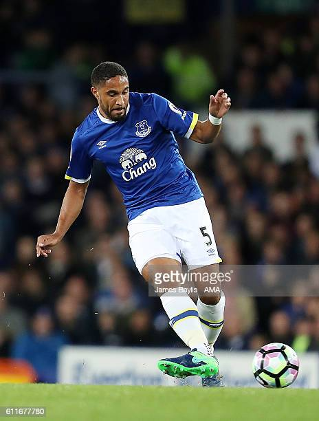 Ashley Williams of Everton during the Premier League match between Everton and Crystal Palace at Goodison Park on September 30 2016 in Liverpool...