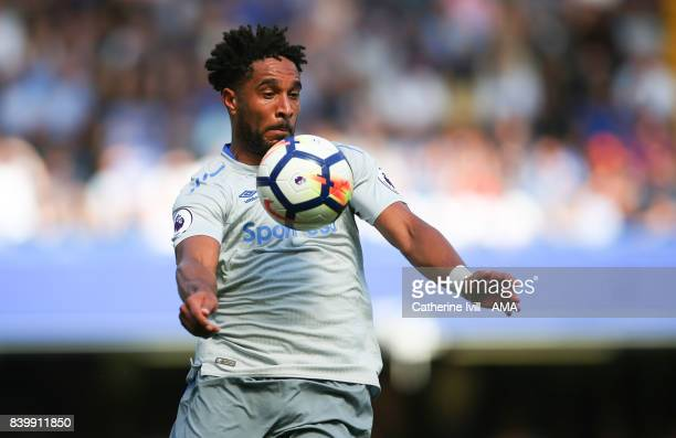 Ashley Williams of Everton during the Premier League match between Chelsea and Everton at Stamford Bridge on August 27 2017 in London England