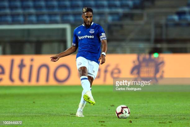 Ashley Williams of Everton FC kicks the ball during the match between Everton FC and LOSC Lille for Algarve Football Cup 2018 at Estadio do Algarve...
