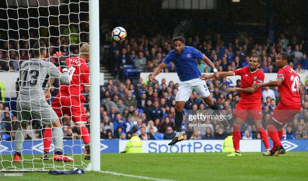Everton v Sevilla - Pre Season Friendly : News Photo