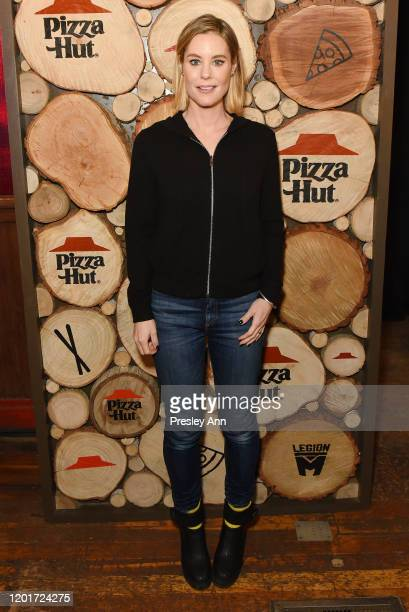 Ashley Williams of 'Meats' attends the Pizza Hut x Legion M Lounge during Sundance Film Festival on January 24 2020 in Park City Utah