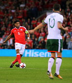 cardiff wales ashley williams wales action