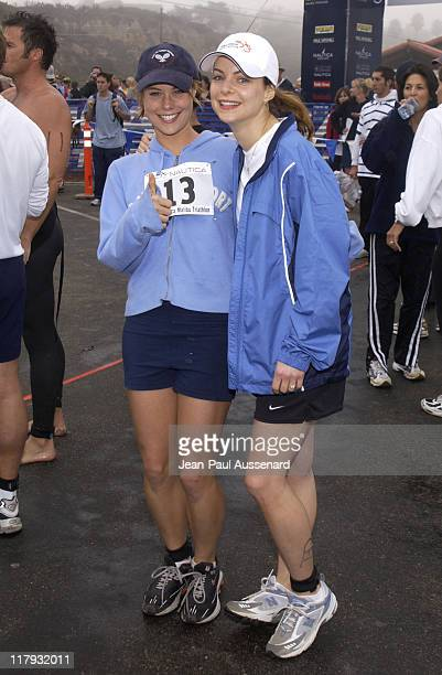 Ashley Williams sister Kimberly Williams during 16th Annual Nautica Malibu Triathlon to Benefit the Elizabeth Glaser Pediatric AIDS Foundation at...