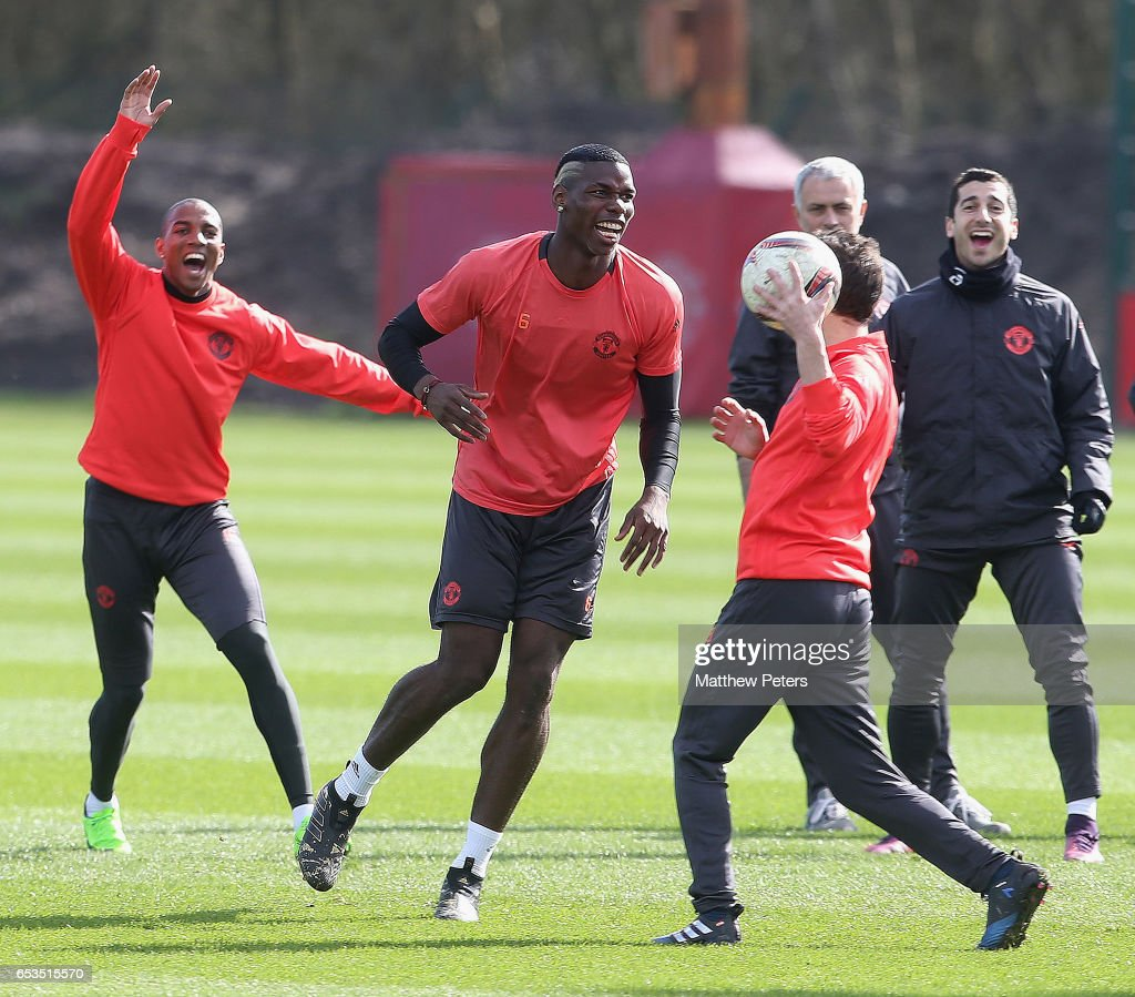 Manchester United Training and Press Conference : Foto jornalística