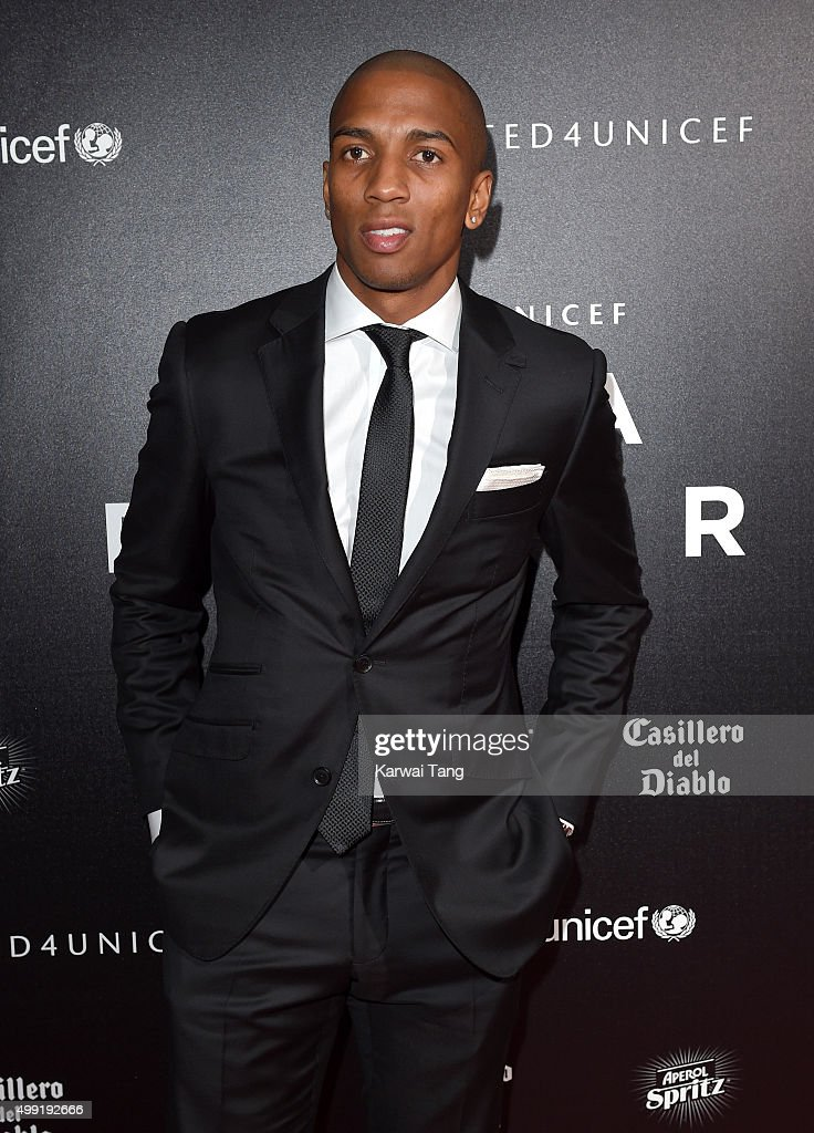 Ashley Young attends the United for UNICEF Gala Dinner at Old Trafford on November 29, 2015 in Manchester, England.