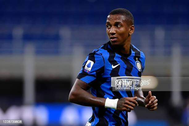 Ashley Young of FC Internazionale during the Italian Serie A match between Internazionale v Fiorentina at the San Siro on September 26, 2020 in Milan...