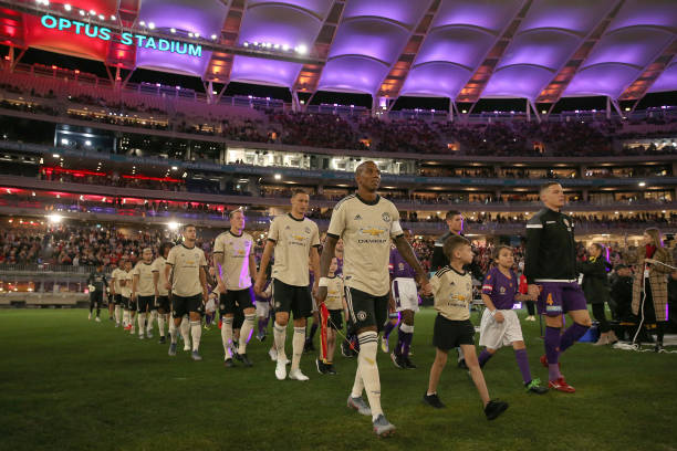 AUS: Perth Glory v Manchester United