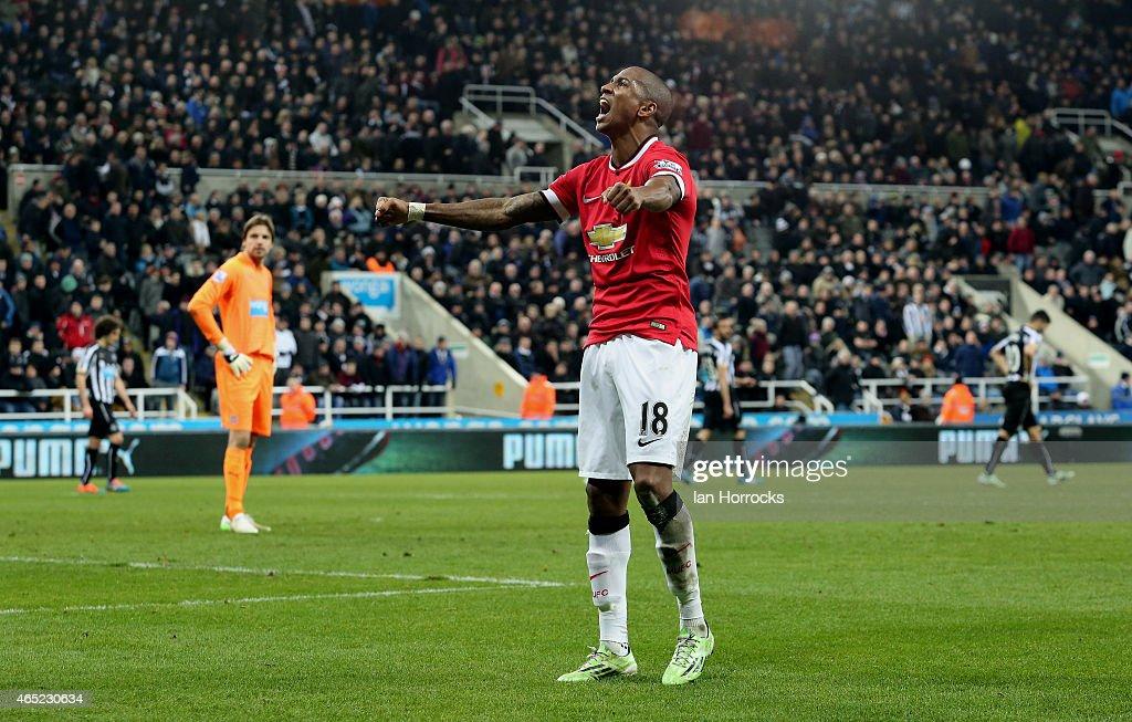 Newcastle United v Manchester United- Premier League : News Photo