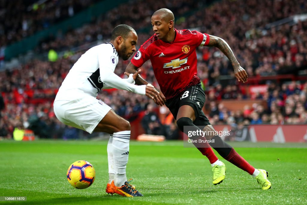 Manchester United v Fulham FC - Premier League : Nachrichtenfoto