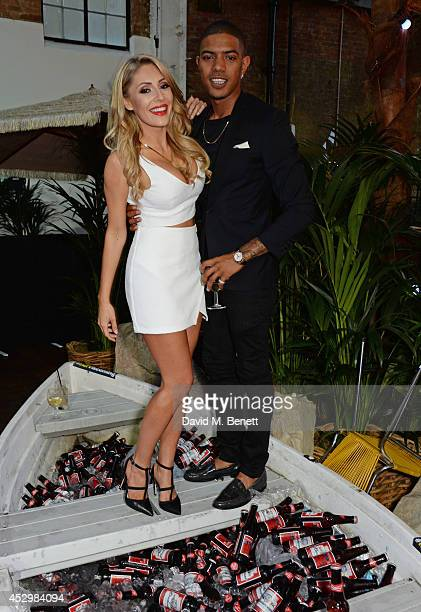 AshleyEmma Havelin and Fazer attend the star studded VIP launch party for truTV a brand new larger than life TV channel launching on 4th August at...