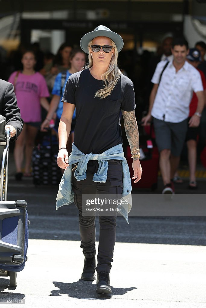 Celebrity Sightings In Los Angeles - July 13, 2015 : News Photo