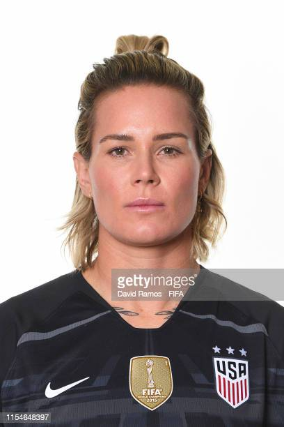Ashlyn Harris of the USA poses for a portrait during the official FIFA Women's World Cup 2019 portrait session at Best Western Premier Hotel de la...