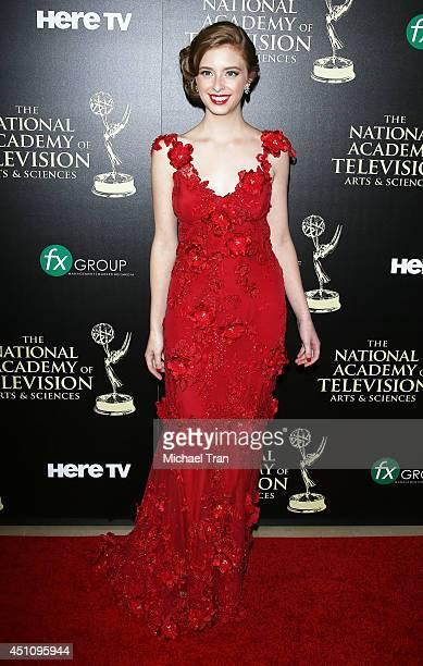 Ashlyn Pearce arrives at the 41st Annual Daytime Emmy Awards held at The Beverly Hilton Hotel on June 22 2014 in Beverly Hills California