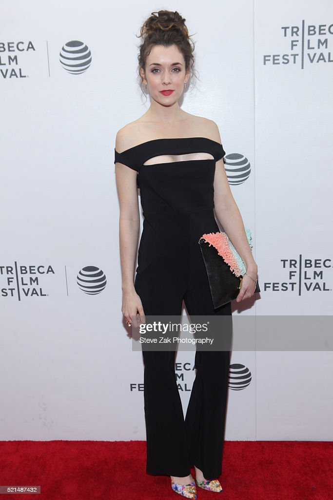 Ashlynn Yennie attends 'Fear, Inc.' premiere during 2016 Tribeca Film Festival at Regal Battery Park 11 on April 15, 2016 in New York City.