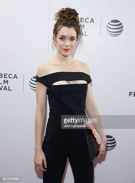 Ashlynn Yennie attends Fear Inc Premiere during the 2016 Tribeca Film Festival at Chelsea Bow Tie Cinemas on April 15 2016 in New York City