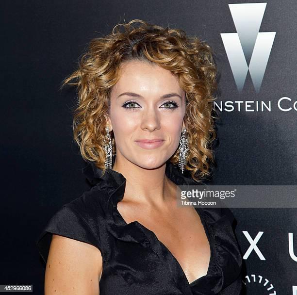 Ashlynn Yennie attends the Weinstein Company short films presented by Lexus at Regal Cinemas LA Live on July 30 2014 in Los Angeles California