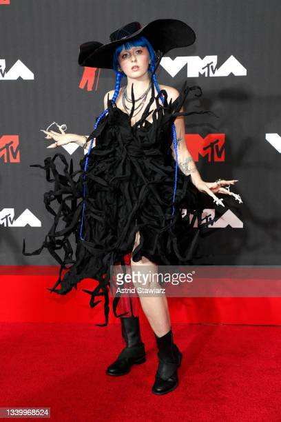 Ashnikko attends the 2021 MTV Video Music Awards at Barclays Center on September 12, 2021 in the Brooklyn borough of New York City.