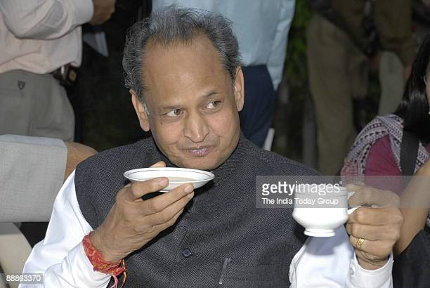 Ashok Gehlot General Secretary of All India Congress Committee and former Chief Minister of Rajasthan in Rajasthan India