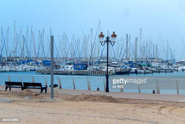 ashqelon, southern district, the marina - アシュケロン ストックフォトと画像