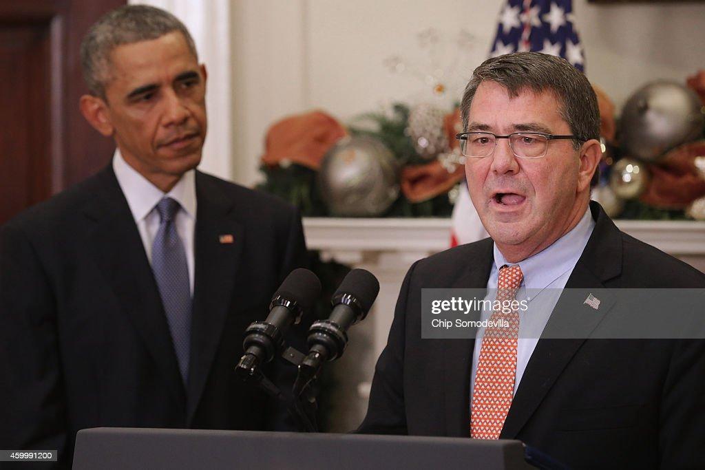 President Obama Nominates Ashton Carter To Replace Hagel As Defense Secretary
