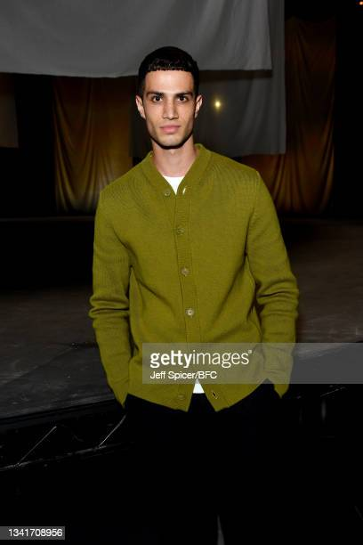 Ashton Gohil attends the COS show at The Roundhouse during London Fashion Week September 2021 on September 21, 2021 in London, England.