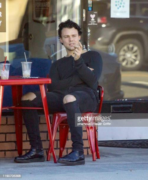 Ashton Irwin is seen on December 28 2019 in Los Angeles California
