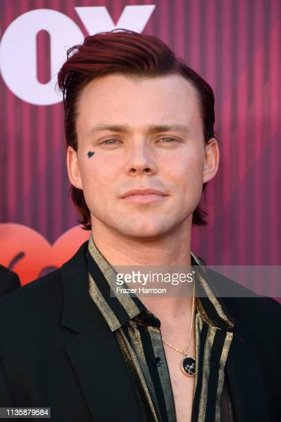 Ashton Irwin of 5 Seconds of Summer attend the 2019 iHeartRadio Music Awards which broadcasted live on FOX at Microsoft Theater on March 14 2019 in...