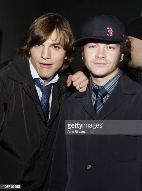 Ashton Kutcher and Danny Masterson during iNDUSTRY eVENTS Hosted By DreamQuest Productions Grand Opening Night Events Held To Benefit A Different...