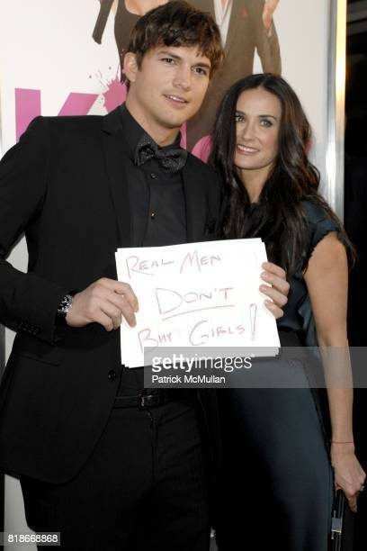 Ashton Kutcher and Demi Moore attend 'Killers' Los Angeles Premiere at ArcLight Cinemas on June 1 2010 in Hollywood California