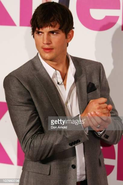 "Ashton Kutcher arrives at the ""Killers"" premiere at Event Cinemas George Street on July 18, 2010 in Sydney, Australia."
