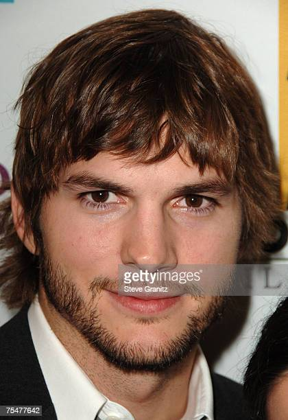 Ashton Kutcher at the The Beverly Hilton Hotel in Beverly Hills California