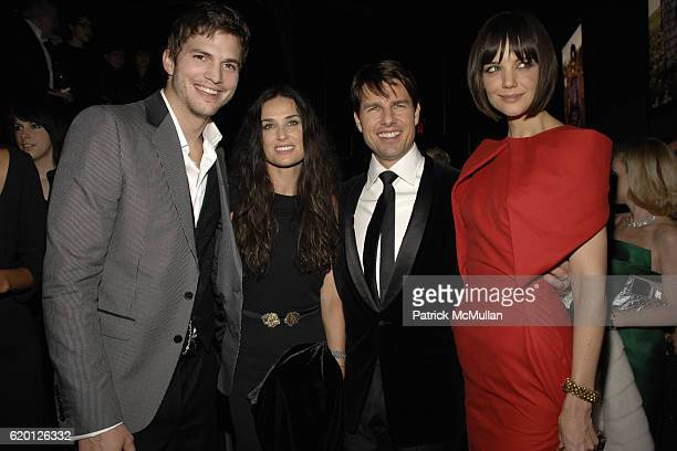 Ashton Kutcher Demi Moore Tom Cruise and Katie Holmes attend GUCCI and MADONNA host A NIGHT TO BENEFIT RAISING MALAWI and UNICEF at the United...