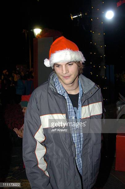 Ashton Kutcher during Beyonce Gets Punk'd at Universal Studios Hollywood in Universal City, California, United States.