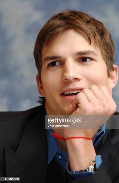 Ashton Kutcher during Guess Who Press Conference with Ashton Kutcher at Four Seasons Hotel in Los Angeles California United States