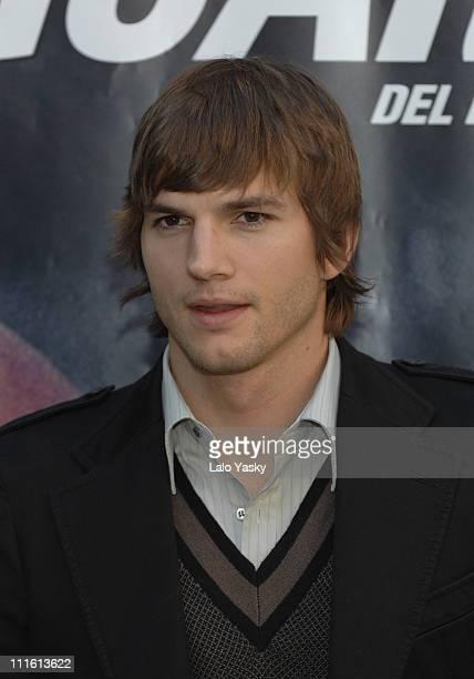 Ashton Kutcher during The Guardian Madrid Photocall at VillaMagna Hotel in Madrid Spain