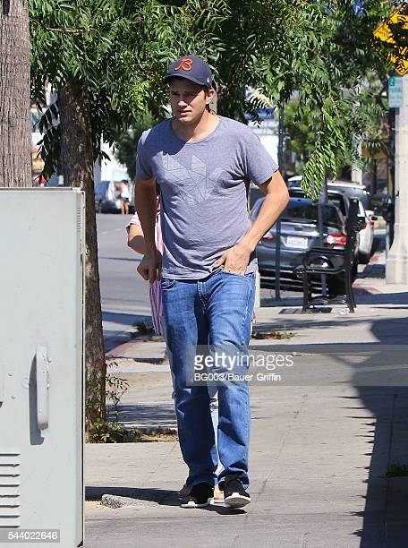 Ashton Kutcher is seen on June 30 2016 in Los Angeles California