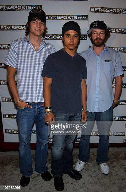 Ashton Kutcher Wilmer Valderrama and Danny Masterson
