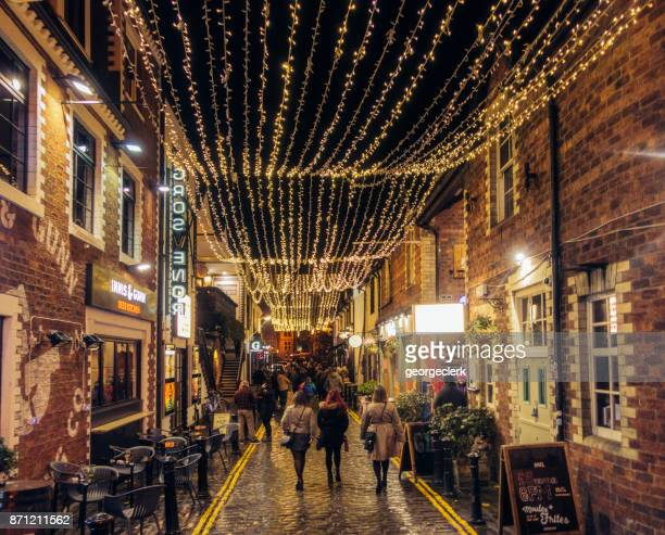 Ashton Lane dans le West End de Glasgow