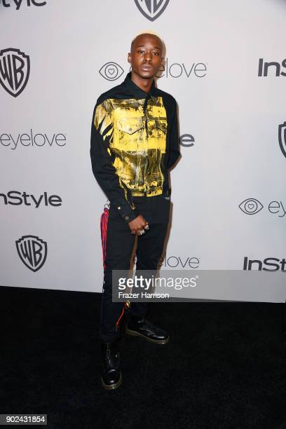 Ashton Sanders attends 19th Annual PostGolden Globes Party hosted by Warner Bros Pictures and InStyle at The Beverly Hilton Hotel on January 7 2018...