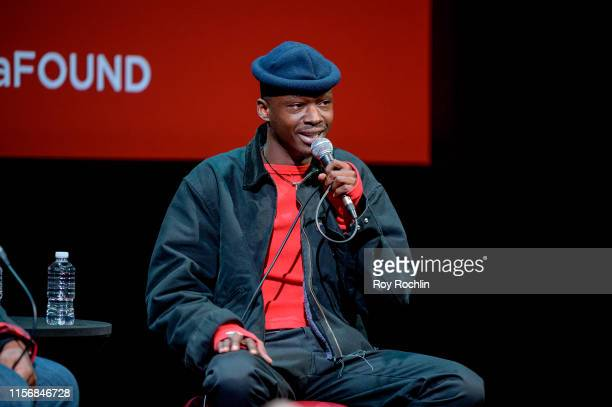 Ashton Sanders attends SAGAFTRA Foundation Conversations Native Son at The Robin Williams Center on June 18 2019 in New York City
