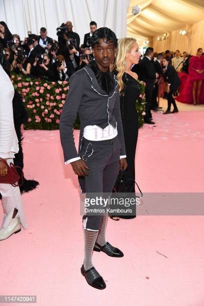 Ashton Sanders attends The 2019 Met Gala Celebrating Camp Notes on Fashion at Metropolitan Museum of Art on May 06 2019 in New York City