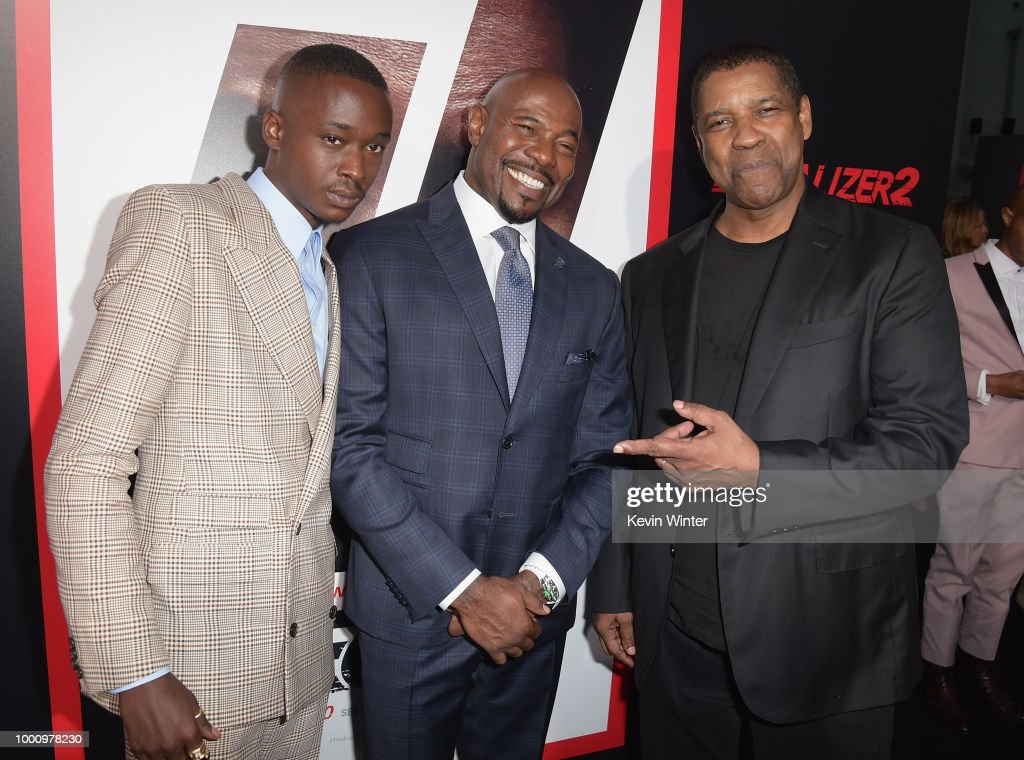 """Premiere Of Columbia Picture's """"Equalizer 2"""" - Red Carpet"""