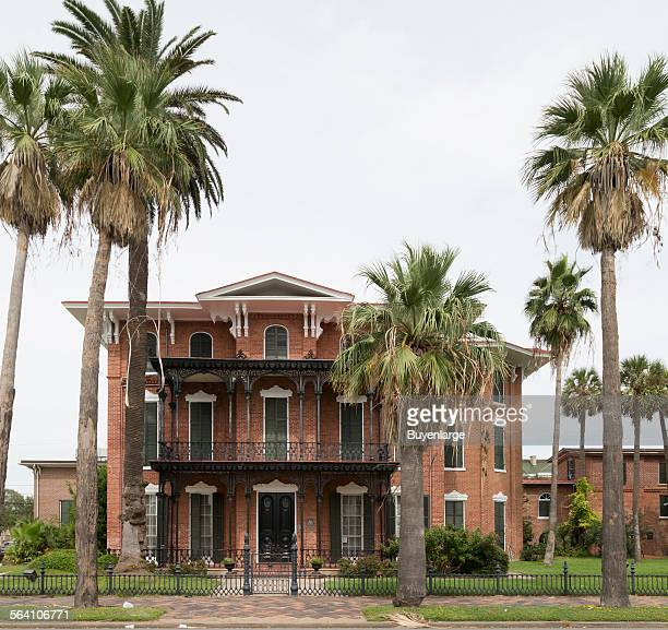 Ashton Villa built in 185859 was the first of Galveston Broadway palaces as well as the first brick house to be built in Texas