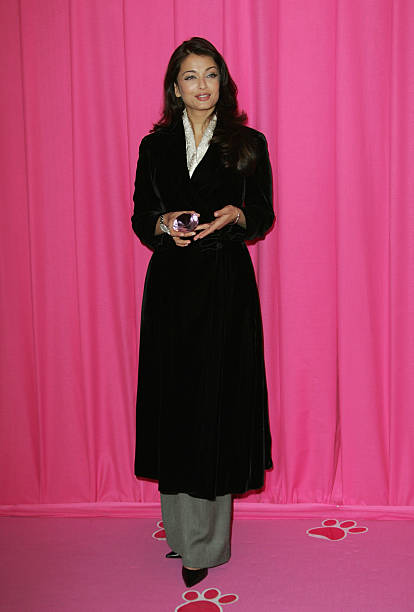 Ashwarya Rai attends ` The Pink Panther 2` Photocall at the Georges V Hotel on February 9 2009 in Paris France