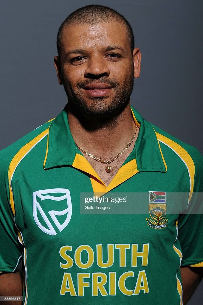 Ashwell Prince poses during the South African One Day International team portait session at Grayston Southern Sun on October 20, 2008 in Johannesburg, South Africa.