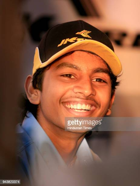 Ashwin Sundir Youngest Racing Champion during a press conference in New Delhi Ashwin will be driving for German racing team MaCon Motor Sports during...